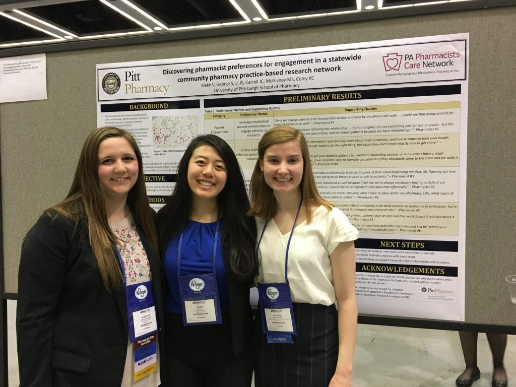 CLIP ARCO students present at APhA Annual 2019