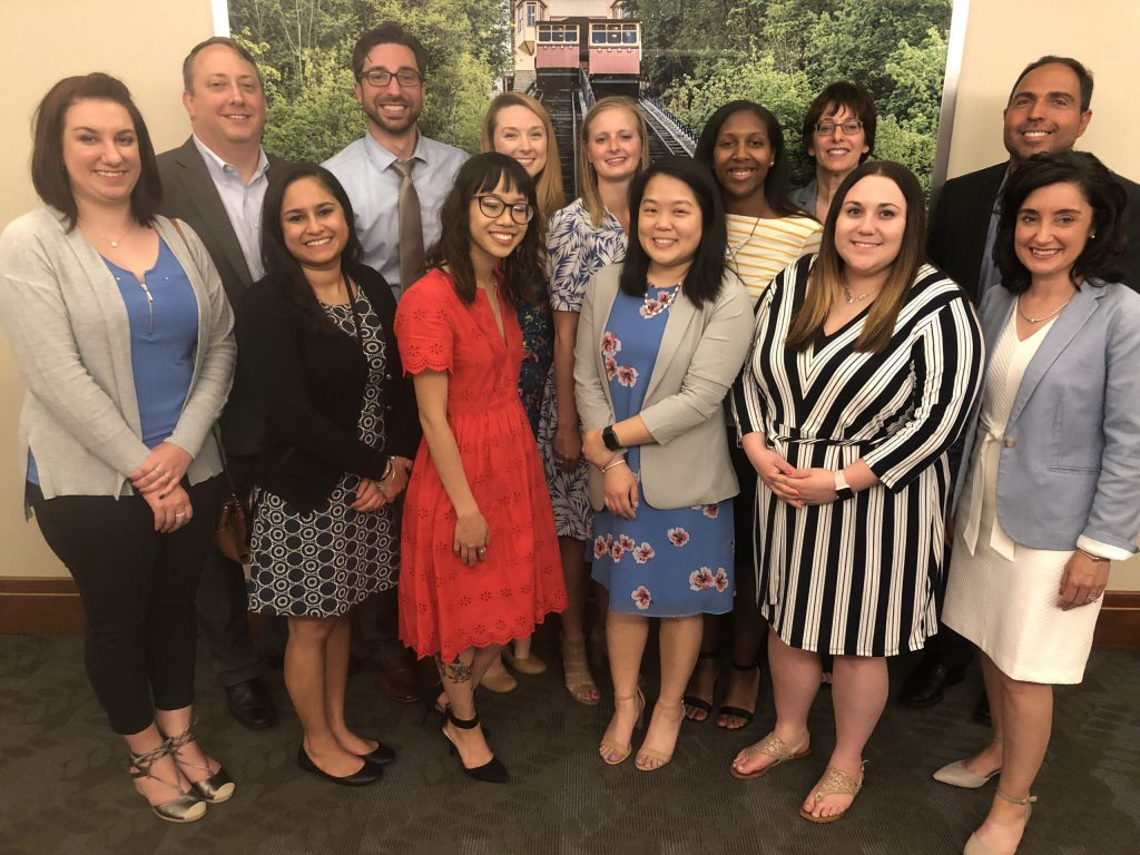 Pitt Pharmacy Community Residency graduates and preceptors 2019